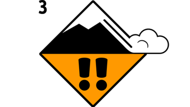 Considerable avalanche danger - level 3 | Freeride safety Stubai Glacier