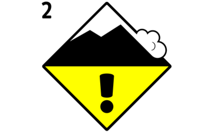 Moderate avalanche danger level| Freeride safety, Stubai Glacier