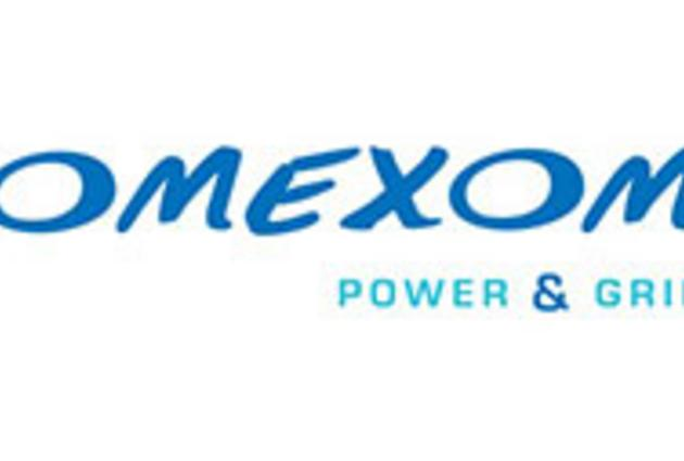 "Logo ""Omexom - Power & Grid"""