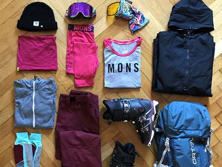 Packing list for your ski holidays