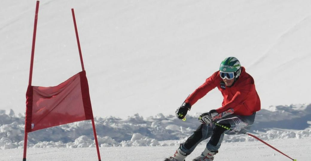 Bode Miller during training on the piste