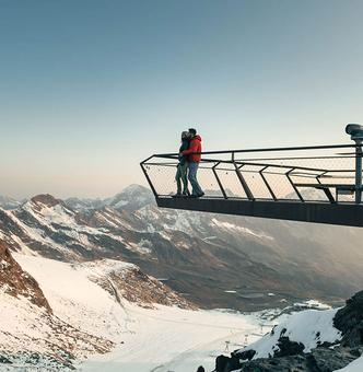 TOP OF TYROL Summit Platform
