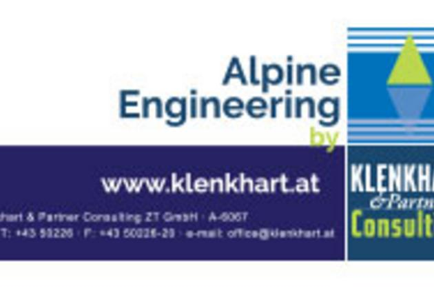 "Logo ""Klenkhart - Alpine Engineering"""