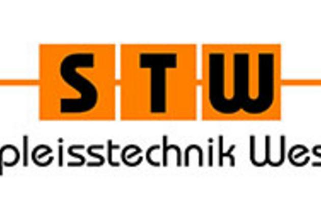 "Logo ""STW - Spleisstechnik West"""