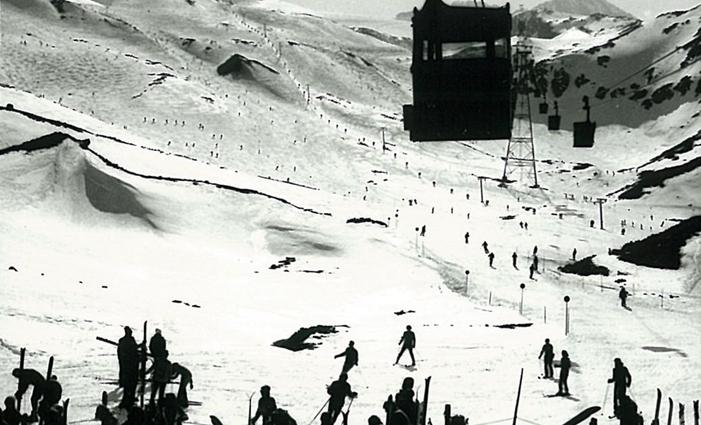 Development at the Stubai Glacier 1968 to 1979